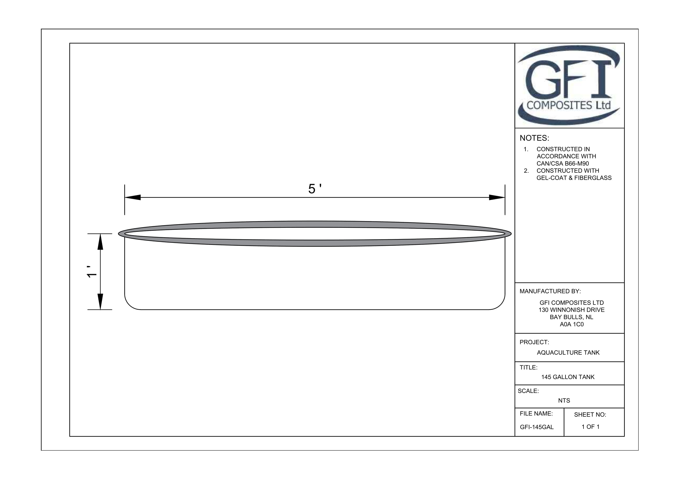 Shop Drawings - GFI Composites