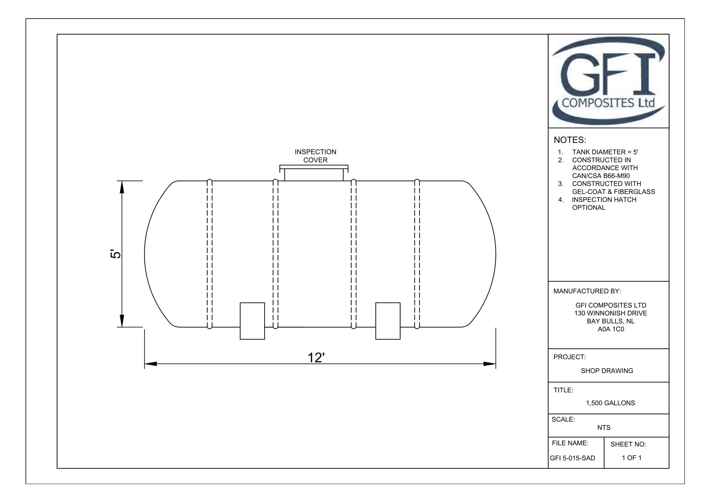 Shop Drawings - GFI Composites