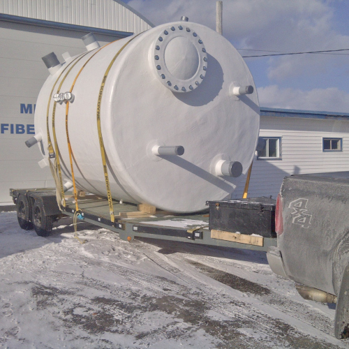 Circular Storage Tanks - GFI Composites
